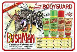 Bushman Plus Dry Gel Water Resistant Insect Repellent With Sunscreen 75g Tube