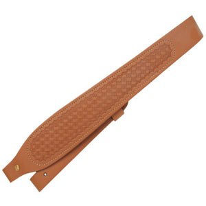 Butler Creek Cobra Tan Basketweave Leather Rifle Sling