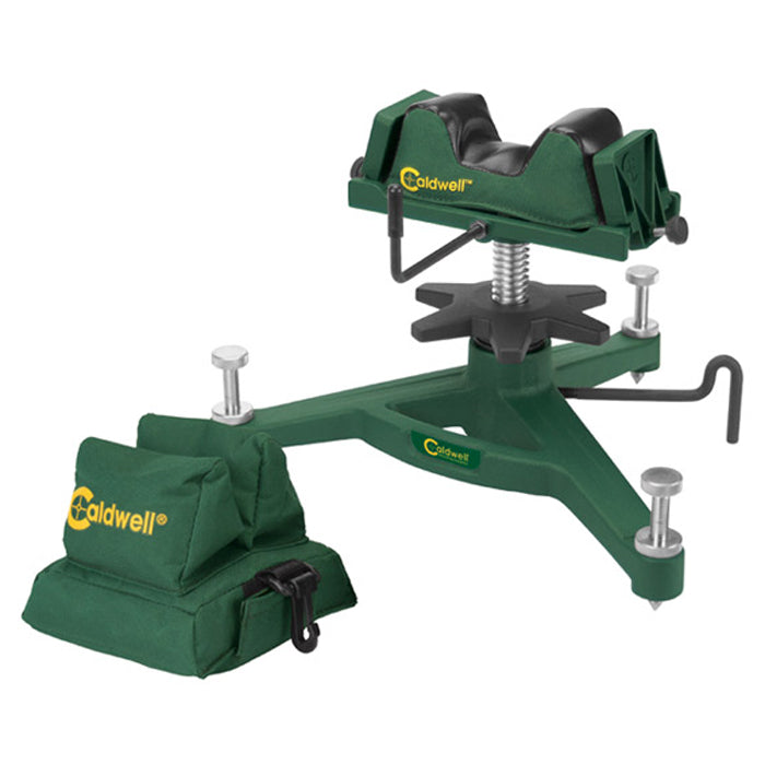 Caldwell The Rock DLX Shooting Bench Rest & Rear Bag Combo