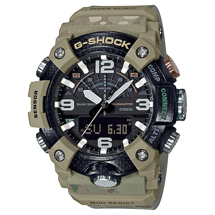 CASIO G-SHOCK British Army Mudmaster Quad Sensor Watch GG-B100BA-1ADR