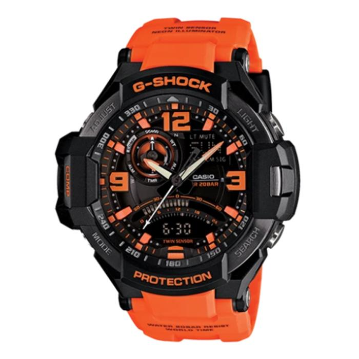 CASIO G-SHOCK Gravitymaster Twin Sensor Watch GA-1000-4ADR