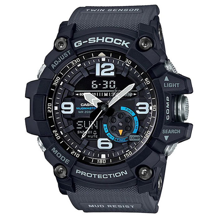 CASIO G-SHOCK Mudmaster Twin Sensor Watch GG-1000-1A8DR