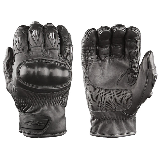 Damascus CRT-50 VECTOR Leather Hard-Knuckle Riot Control Gloves Short Cuff