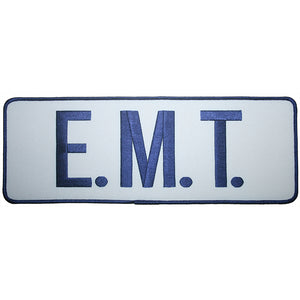 EMT Back Patch