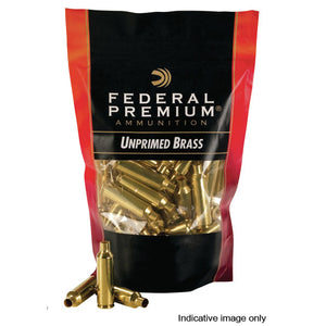 Federal Unprimed Brass Cases 300 WIN MAG - 50 Pack