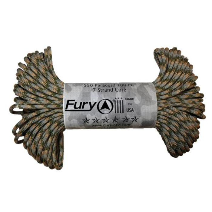 Fury 550 Paracord - Army Combat Uniform