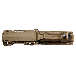 Gerber STRONGARM Fine Edge Fixed Blade Knife With Sheath - Coyote Brown