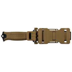 Gerber STRONGARM Partially Serrated Fixed Blade Knife With Sheath - Coyote Brown
