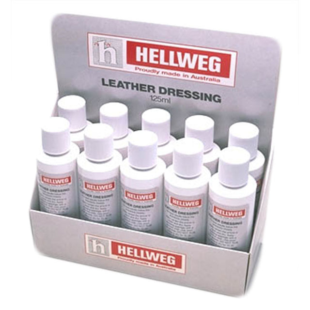 Hellweg Leather Dressing 125ml Bottle
