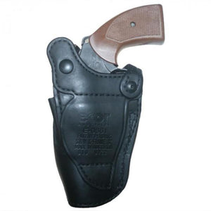 "Hellweg Ecor LVL 2 Basketweave Leather 3"" Holster 