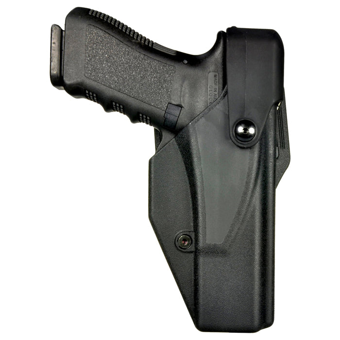 Hellweg 2800-B-G17 LVL 4 Hood-Loc Top Draw Duty Holster - Suits Glock 17 & 22