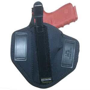 Hellweg Protector LVL 1 Nylon Pancake Holster | Glock, S&W, Sig, Colt, Ruger, Browning & Beretta Autos, Rear