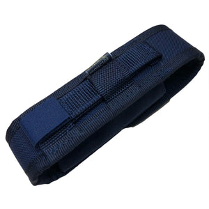 Hellweg Protector P7 MOLLE Compatible Nylon Torch Pouch Navy, Rear
