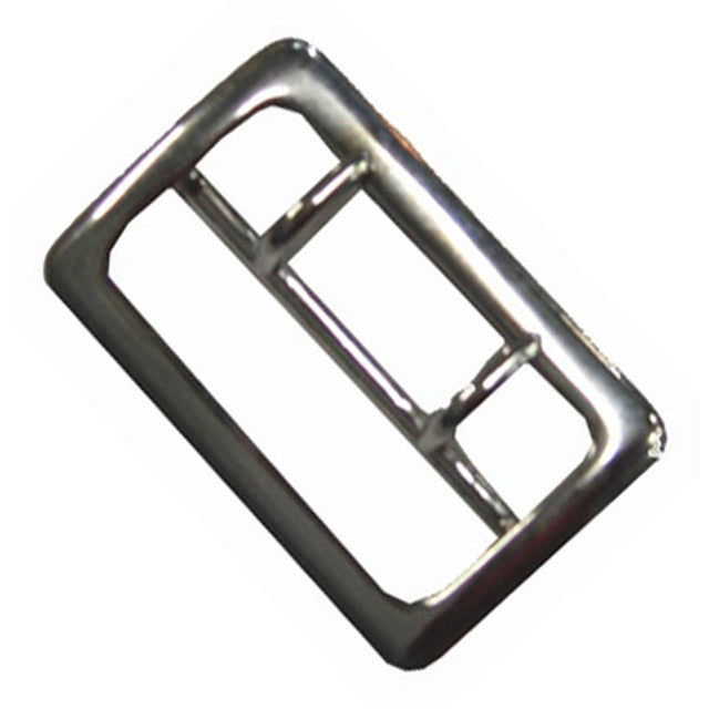 "Sam Browne 2-1/4"" Duty Belt Buckle Nickel"