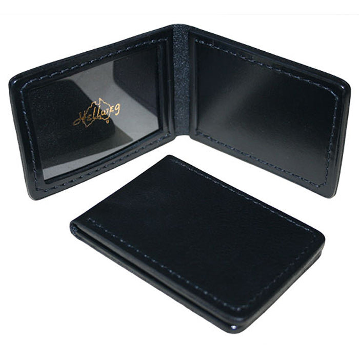 Hellweg Single Window Leather Identification Card Wallet
