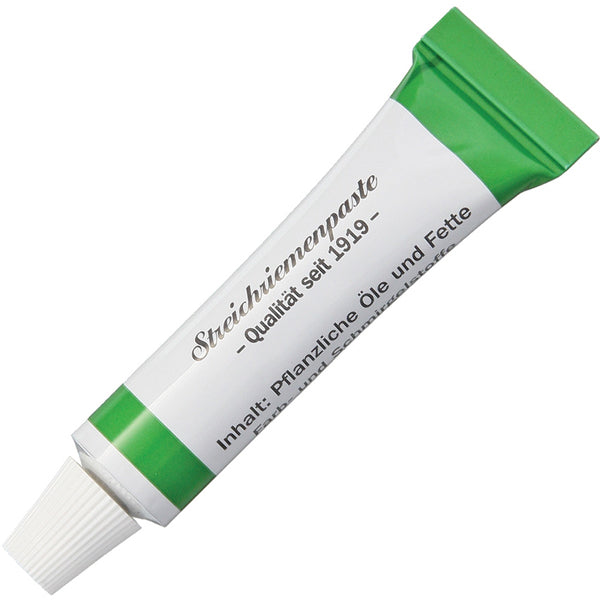 Herold Solingen Tubenpaste for Razor Strops Coarse Grind (Green Tube)