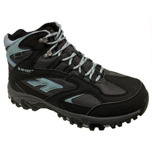 HI-TEC LIMA Sport Mid WP Women's Hiking Boots - Black/Charcoal/Forget Me Not