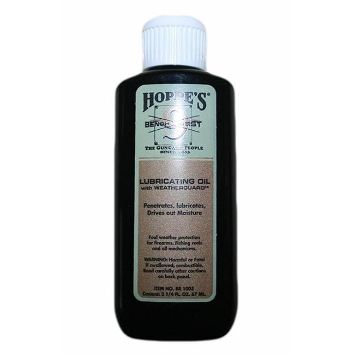 Hoppe's Bench Rest Lubricating Oil with Weatherguard Squeeze Bottle 67ml