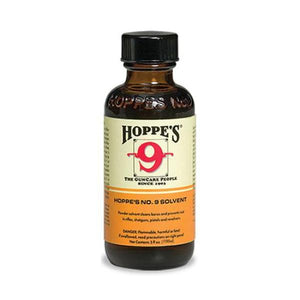 Hoppe's NO.9 Bore Cleaning Solvent Bottle 59ml