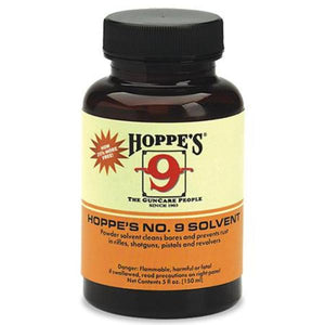 Hoppe's NO.9 Bore Cleaning Solvent Bottle 150ml