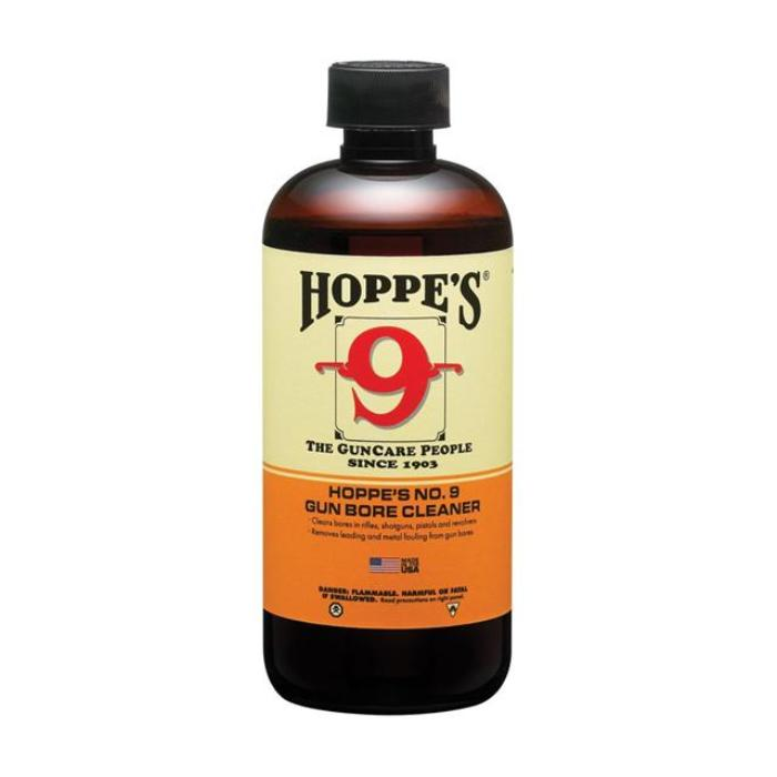 Hoppe's NO.9 Bore Cleaning Solvent Bottle 473ml