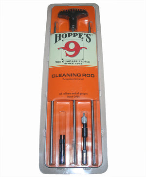 Hoppe's 3 Piece Universal Cleaning Rod Kit - Suits All Calibers & Gauges