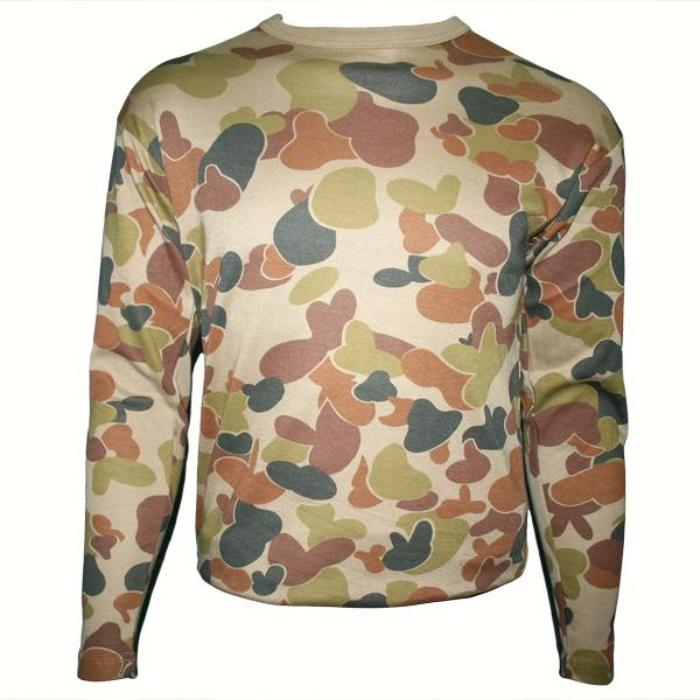 HUSS Long Sleeve T-Shirt - Auscam Camo