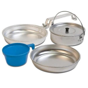 HUSS 5 Piece Mess Kit for 1 Person