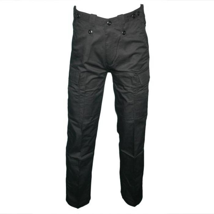 HUSS Men's Security Cargo Trousers - Black