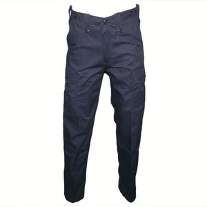 HUSS Men's Security Cargo Trousers - Navy Blue