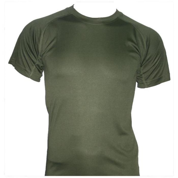 HUSS Tactical Quick Dry Under Shirt - Olive