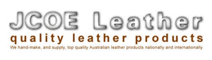 JCOE Leather Logo LAWGEAR