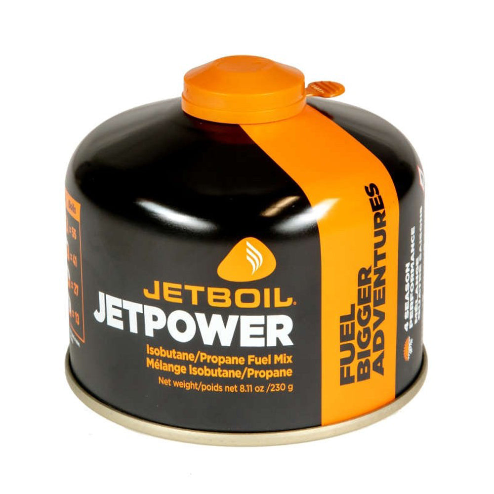 JETBOIL Jetpower Isobutane/Propane Fuel Mix Canister 230g
