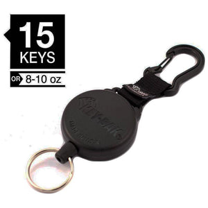 Key-Bak SECURIT Heavy Duty Retractable Keychain Reel w/Carabiner