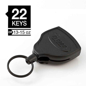 Key-Bak SUPER48 Heavy Duty Retractable Keychain Reel w/Clip