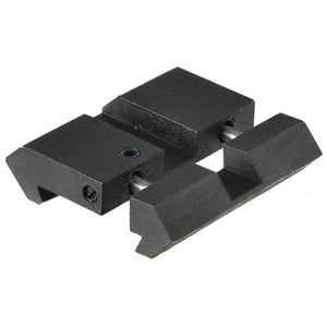 Leapers UTG Airgun/.22 Dovetail to Picatinny/Weaver Low Pro Snap-in Adaptor