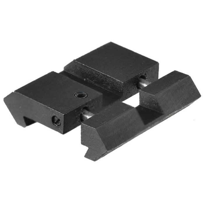 Leapers UTG Airgun/.22 Dovetail to Picatinny/Weaver Low Pro Snap-in Adaptor Kit