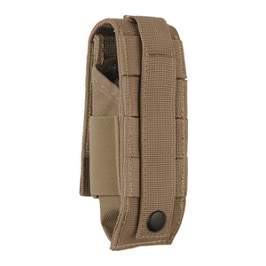 Leatherman MUT Nylon MOLLE Compatible Belt Sheath - Brown, Rear