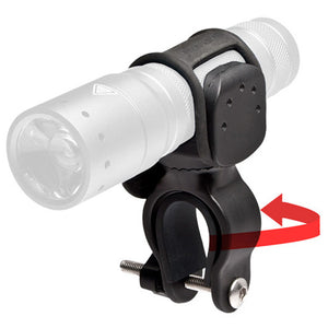 Led Lenser Universal Bike Torch Clamp - Suits P7, P7.2, T7M, M7R, M7, L7, L6, L5 & X7R Torches