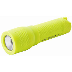 Led Lenser L7 - 100 Lumen LED Light Weight Series Torch - High Visibility Yellow