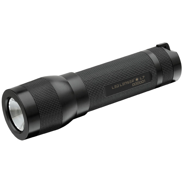 Led Lenser L7 - 115 Lumen LED Light Weight Series Torch - Black