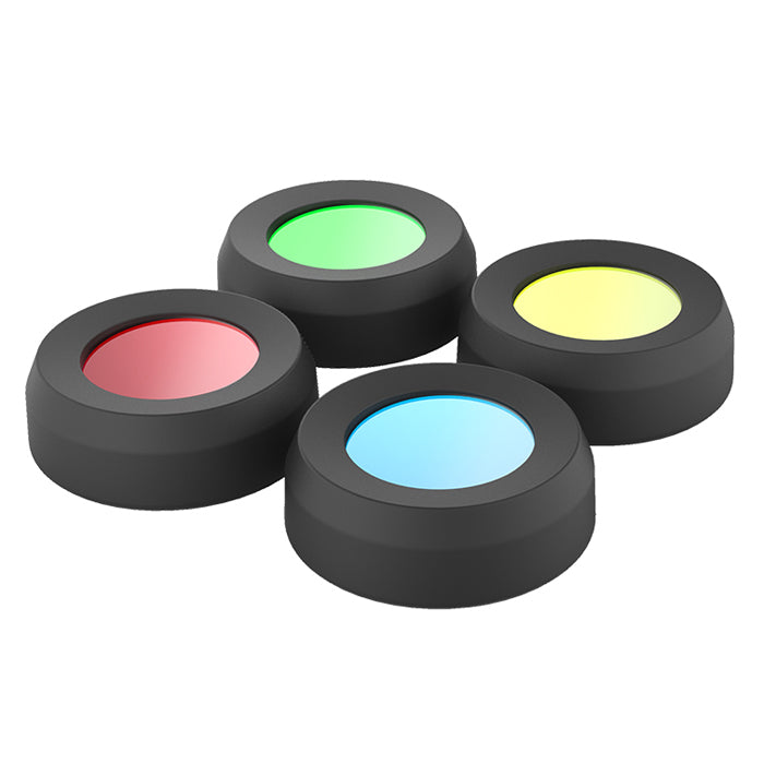 Led Lenser MH10 & H8R 4-Colour Filter Set 36mm