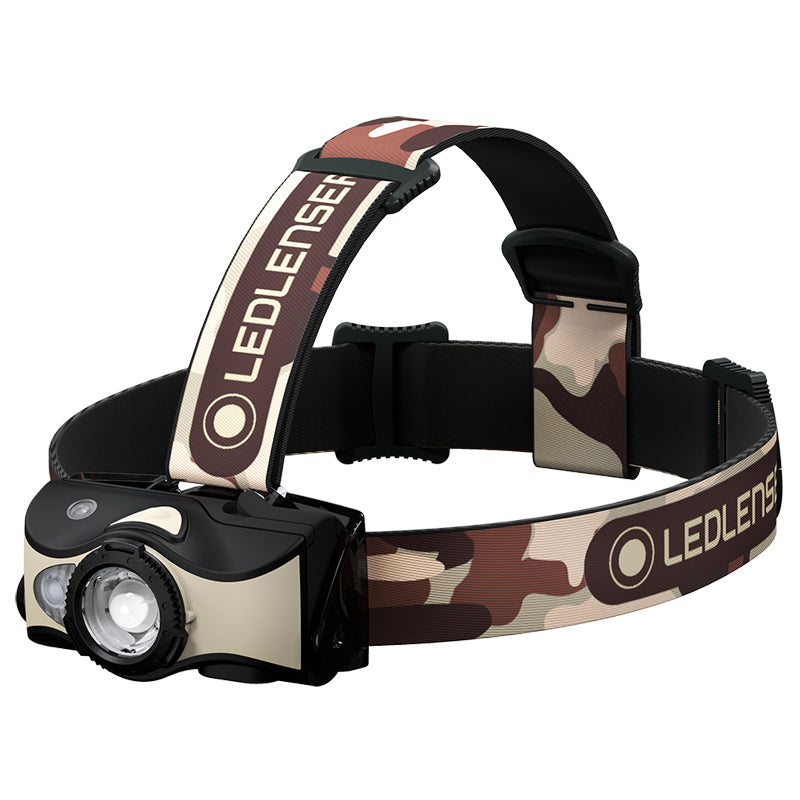 Led Lenser MH8 - 600 Lumen LED Rechargeable Outdoor Series Headlamp