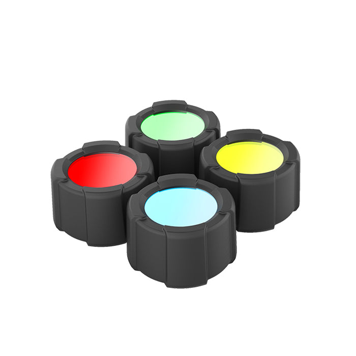 Led Lenser MT14 4 Colour Filter Set 39mm