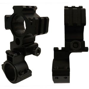 Led Lenser Anodized Alloy Universal Rifle Scope Torch Mounting Bracket