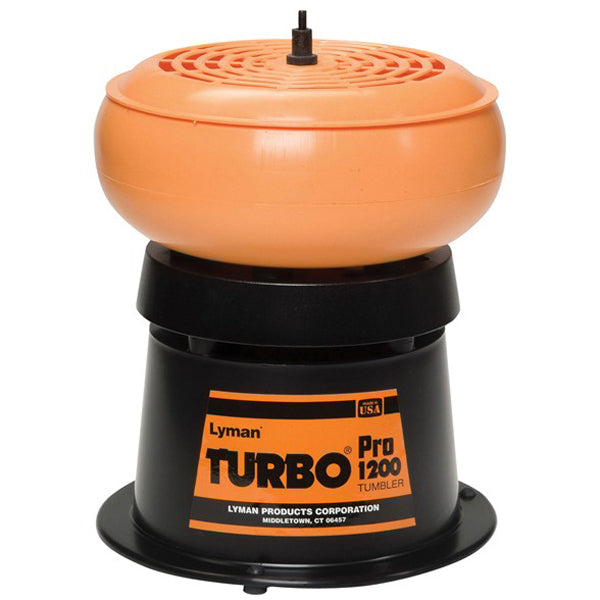 Lyman 1200 Pro Turbo Tumbler Holds 2lbs Media