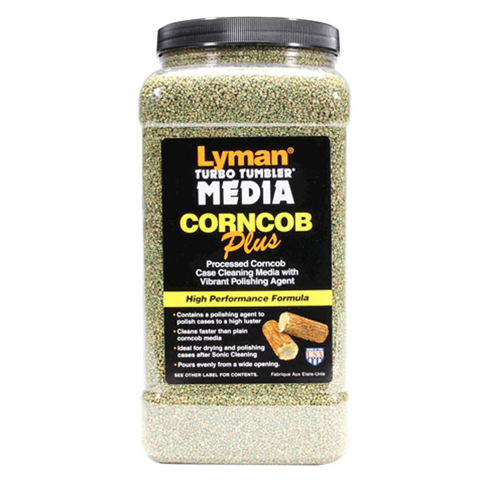 Lyman Corn Cob Turbo Tumbler Easy Pour Media 4.5LB