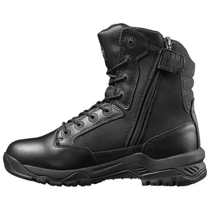 "Magnum Strike Force 8.0"" Leather/Cordura Side Zipper Boots"