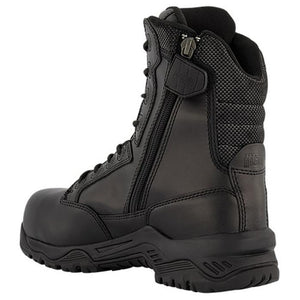 "Magnum Strike Force 8.0"" Leather Side Zipper/Composite Toe Boots"
