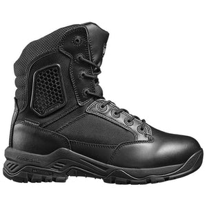 "Magnum Strike Force 8.0"" Leather/Cordura Side Zipper/Waterproof Boots"